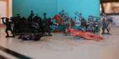 Figurines petits Soldats ''Chevalier'' en plastique 5 Cabestany (66)