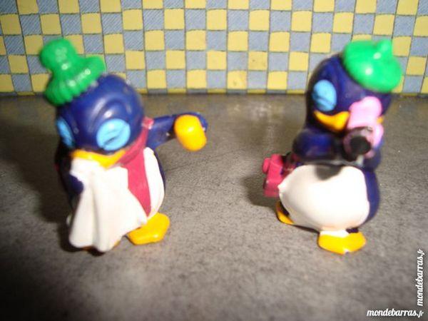 Lot de 2 figurines pingouin ferrero 2 La Verdière (83)