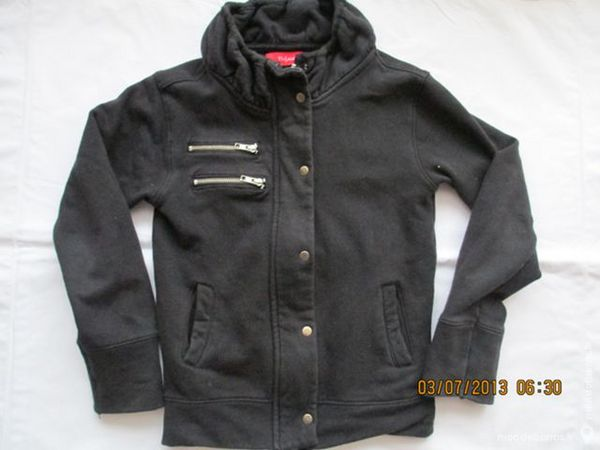 Fille 6 A gilet veste Tissaia noir 8 Alfortville (94)