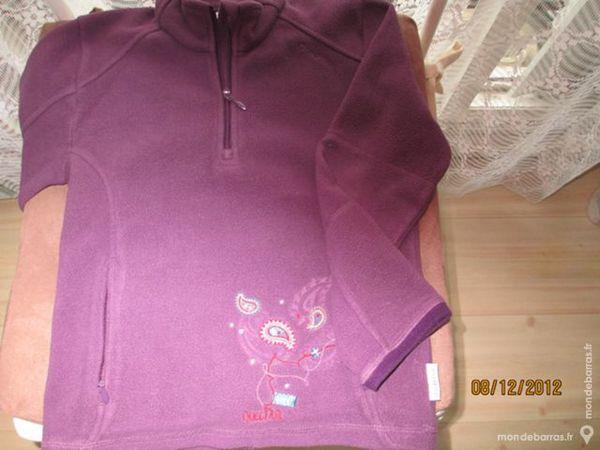 Fille 6 ans pull polaire DECATHLON violet 8 Alfortville (94)
