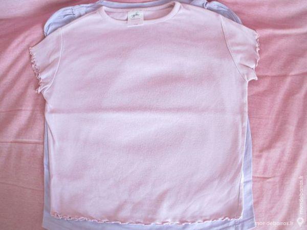 fille 5 ans tee shirt rose C&A 1 Alfortville (94)