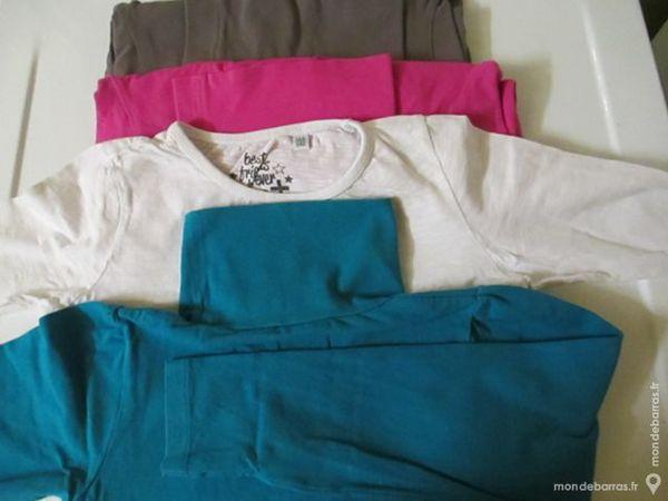 8A fille Lot 3 sous-pull-1 tee shirt manche longue 7 Alfortville (94)