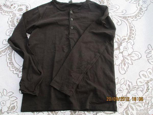 Fille 9/10 A Zarah Kids tee shirt noir 5 Alfortville (94)