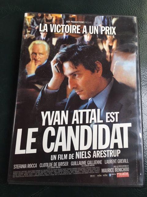DVD FILM   LE CANDIDAT  avec Yvan ATTAL et Niels ARESTRUP 7 Bordeaux (33)