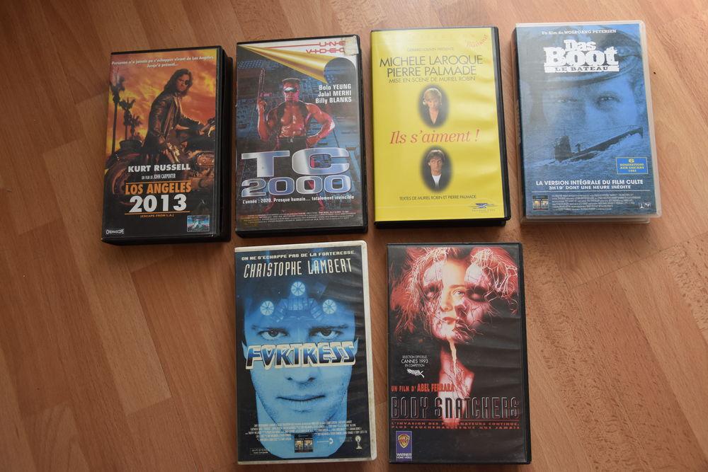 VHS FILM. 1 euro unité ou 5 euros les 6 1 Gujan-Mestras (33)