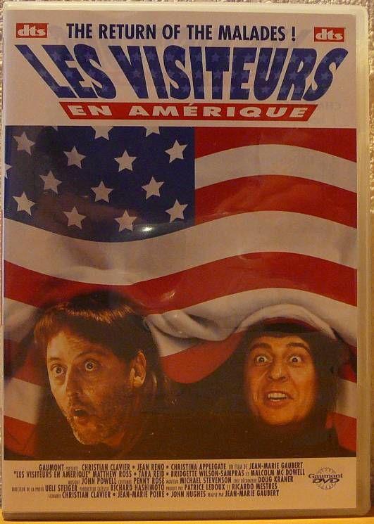 Film dvd d'occasion  Les Visiteurs en Amérique  1 Lens (62)