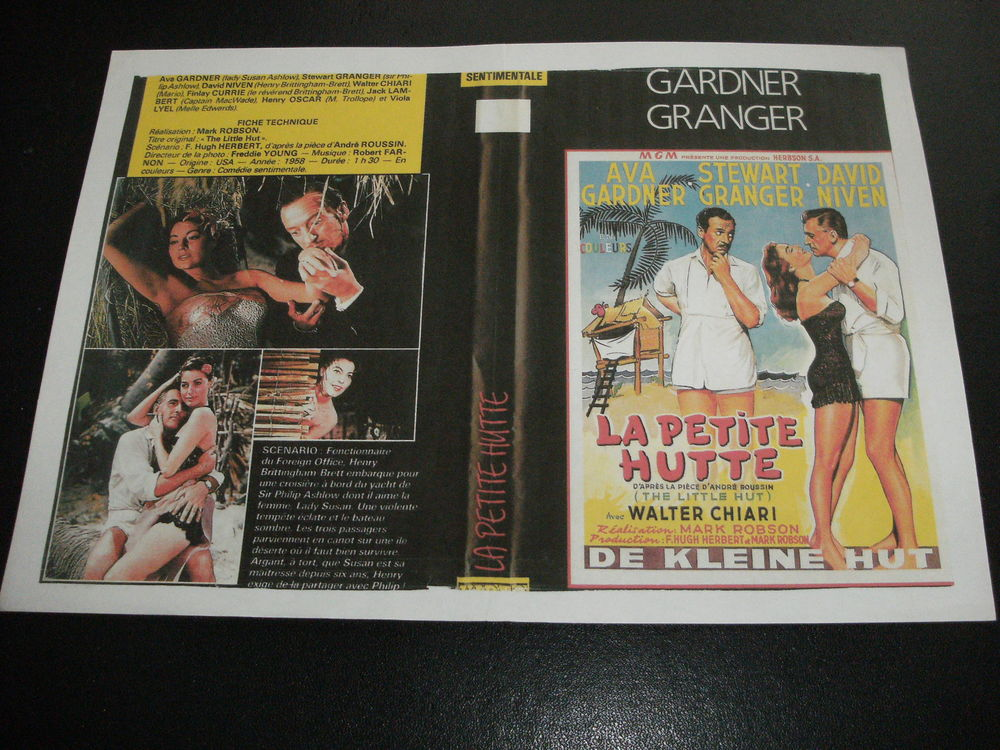"Film : "" La petite hutte "" DVD et blu-ray"