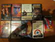 LOT DE 8 FILMS CASSETTES VHS VIDEOS (Originaux)