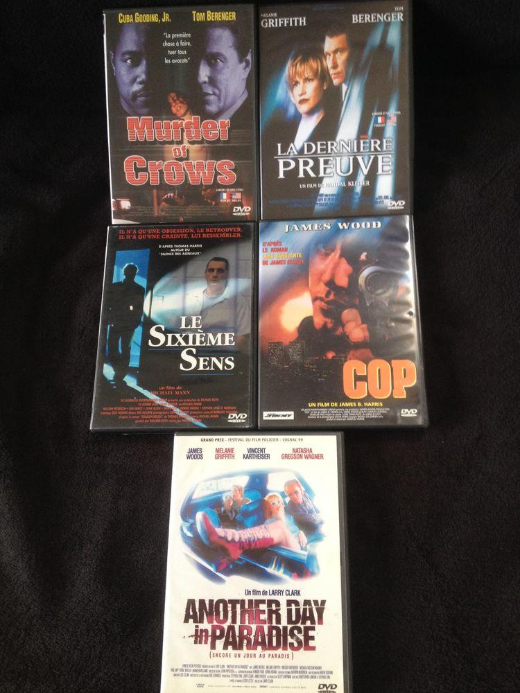 5 films DVD Originaux TBE  série Policier & Suspense  6 Canet-en-Roussillon (66)