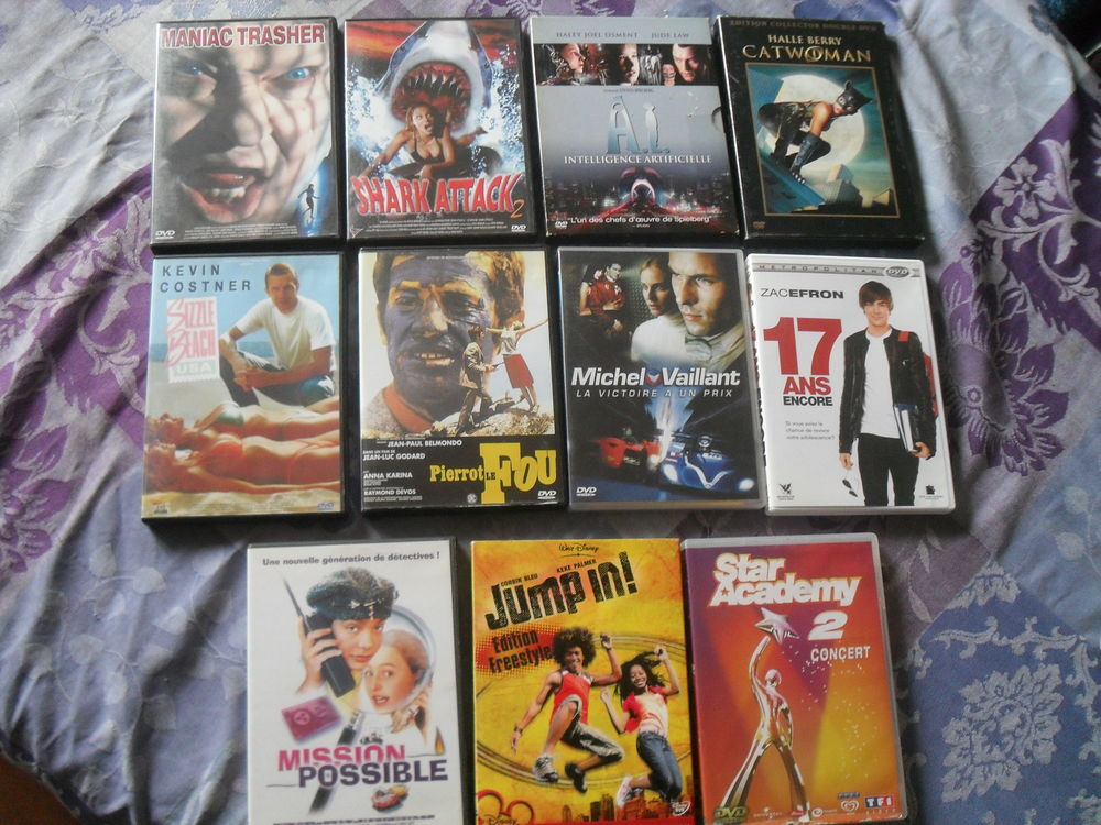 11 films DVD DVD et blu-ray