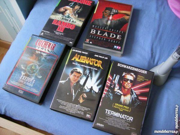 5 FILMS V H S DVD et blu-ray