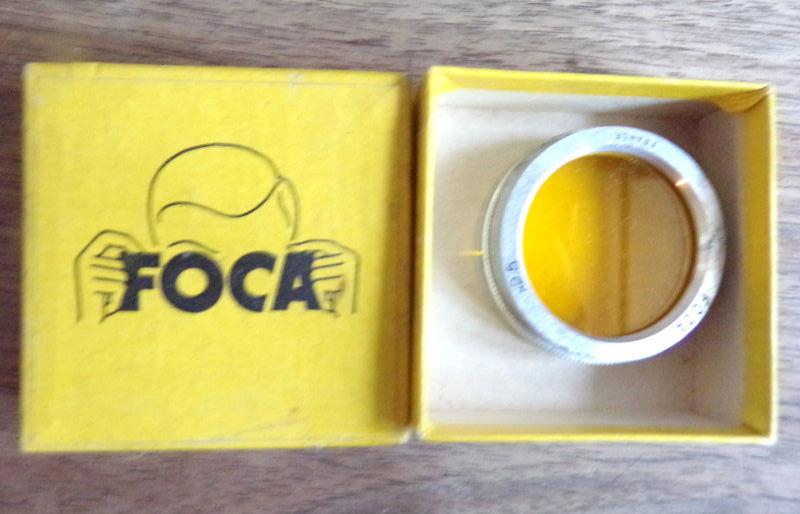 Filtre jaune Foca france x2.5,photo 5 Laval (53)