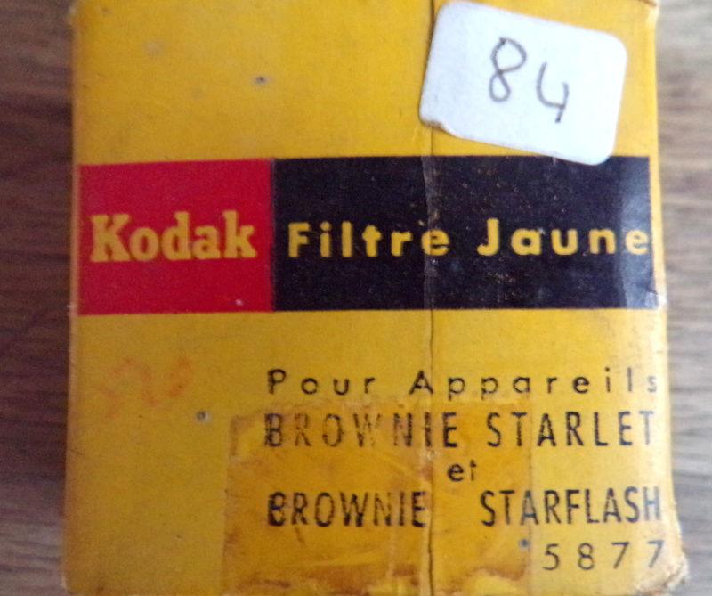 Filtre jaune kodak pour appareils Brownie Starlet 10 Laval (53)