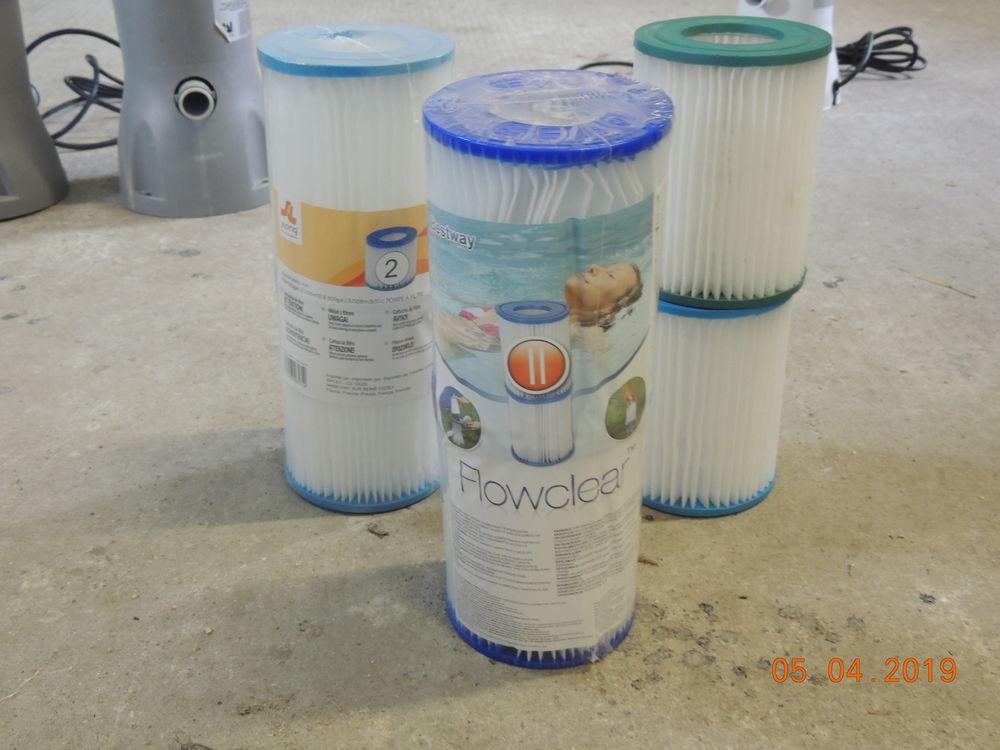 Filtres cartouche pour pompe de filtration BESTWAY 4 Moëze (17)