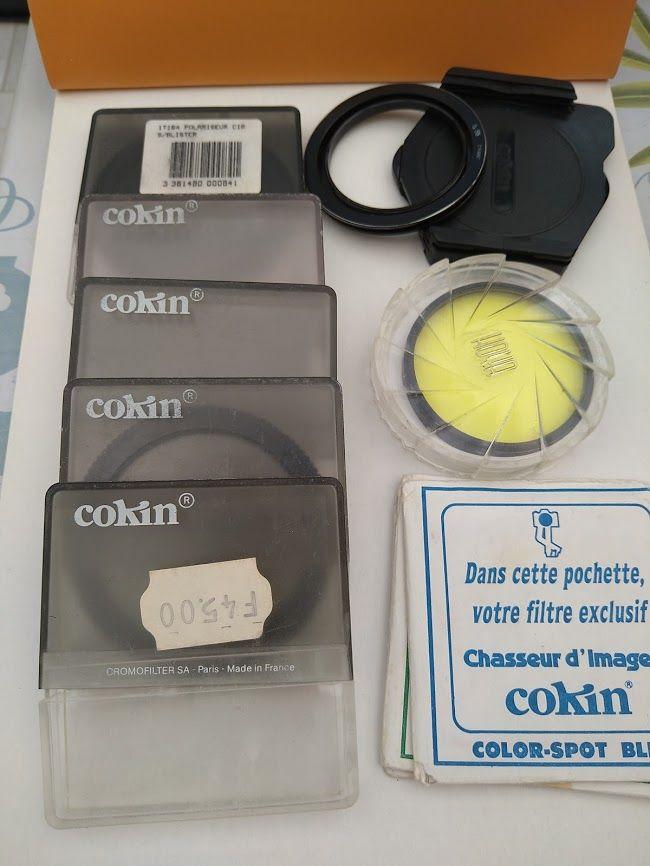 Filtres et porte-filtre COKIN 35 Sarry (51)