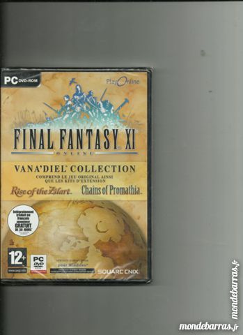 JEU PC FINAL FANTASY XI 3 Saint-Denis-en-Val (45)