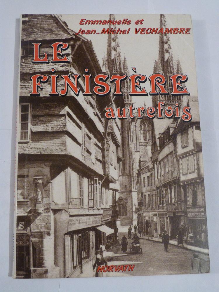 LE FINISTERE AUTREFOIS  - livre  BRETON 8 Brest (29)