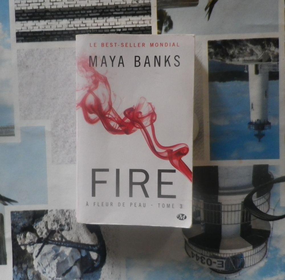 FIRE A fleur de peau T3 de Maya BANKS 2 Bubry (56)