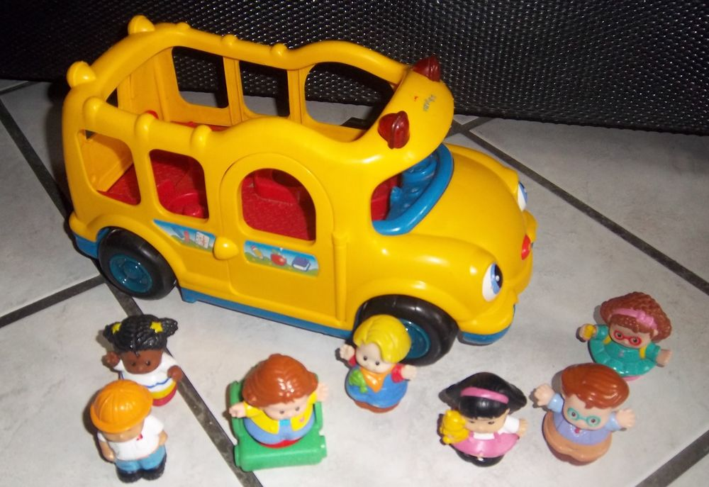Bus Fisher Price 2005 et personnages 5 Colombier-Fontaine (25)