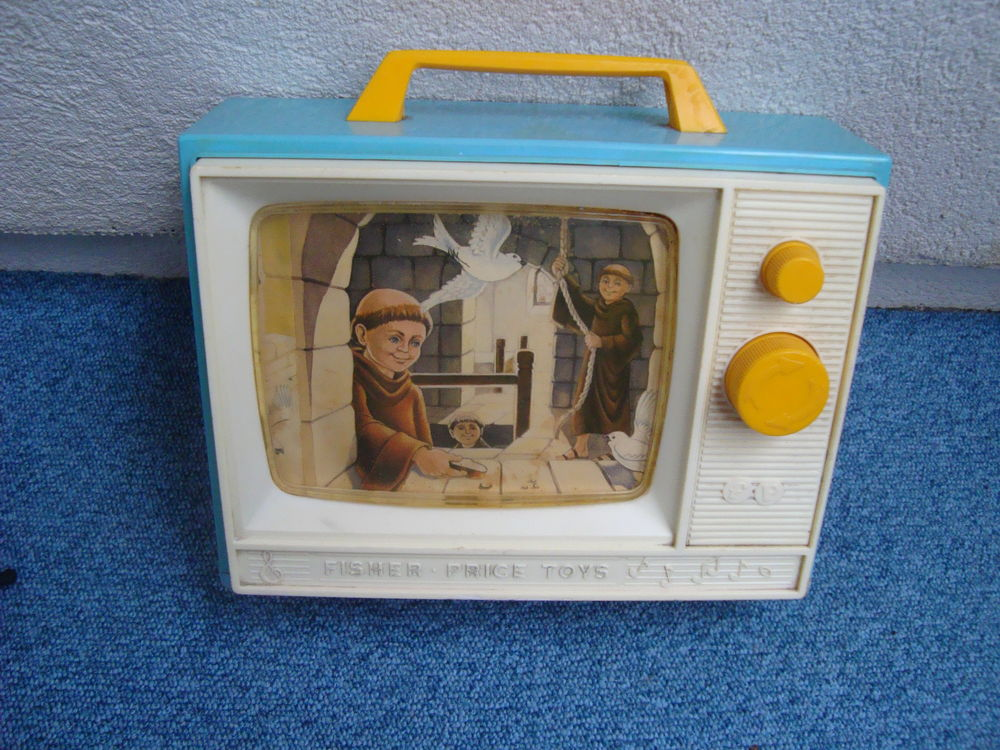 -Fisher -Price vintage télé musical 1964 40 Bagneux (92)
