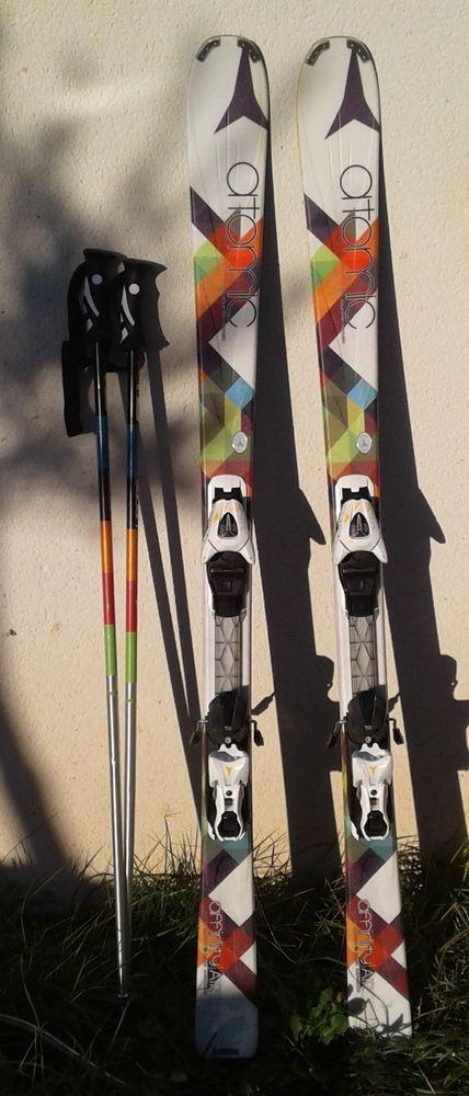 Ski, Fixation + Batons + Housse 145 Puéchabon (34)