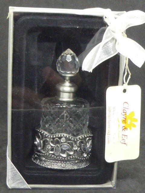 Flacon de parfum Claire & Eef avec base métal amovible  8 Rueil-Malmaison (92)