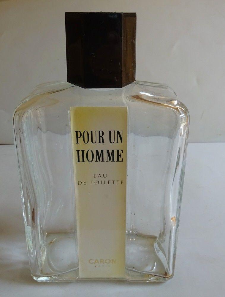 FLACON VIDE EAU DE TOILETTE  POUR UN HOMME  CARON 500 ml 10 Mondragon (84)