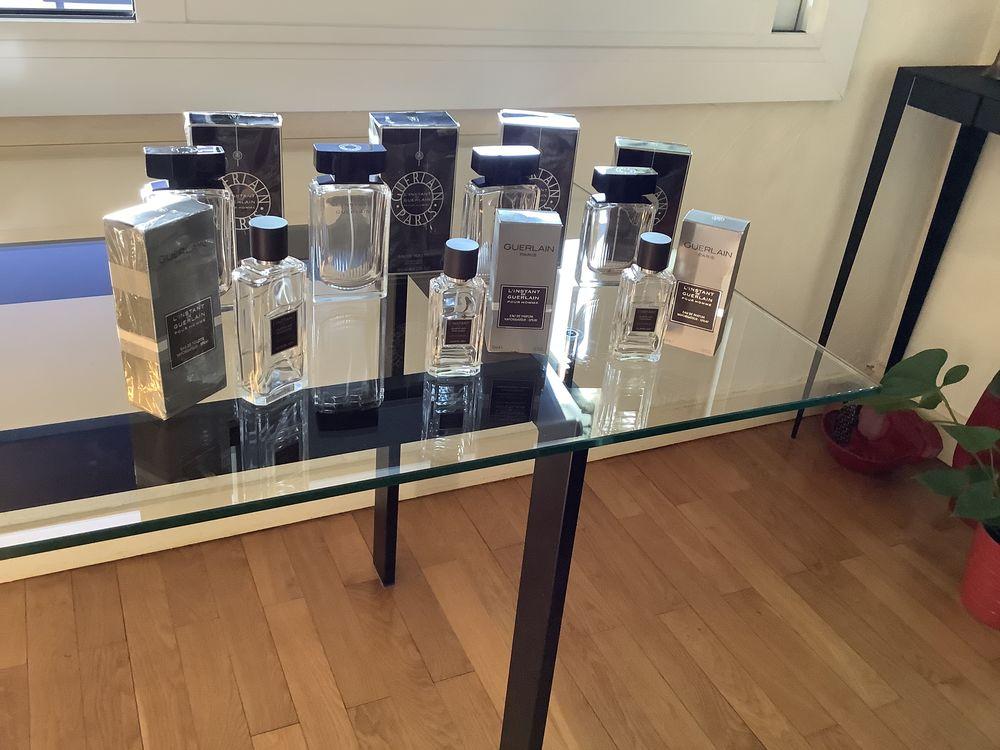 Flacons de parfum  vides  Guerlain  19 Lyon 3 (69)