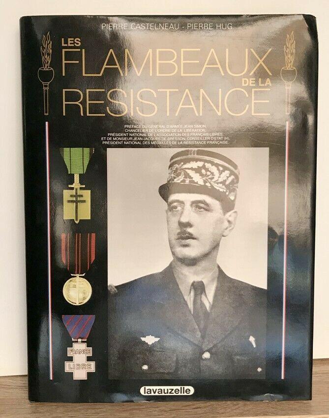 Les flambeaux de la résistance de Pierre Castelneau 14 Cannes (06)