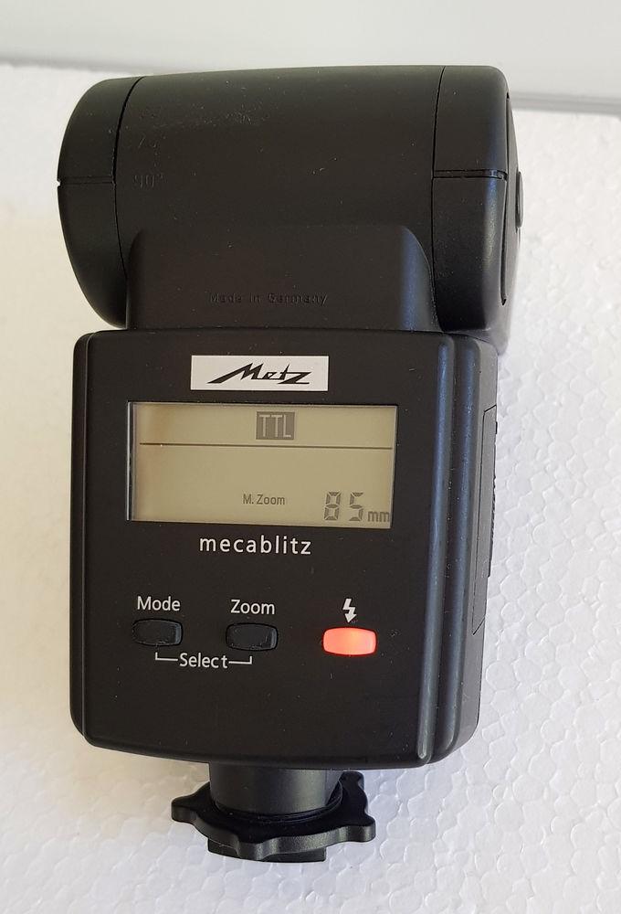 FLASH METZ MECABLITZ 44 AF-4iN DIGITAL SABOT NIKON 70 Aubagne (13)