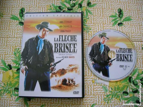 DVD LA FLECHE BRISEE - Western avec Debra Paget 12 Nantes (44)