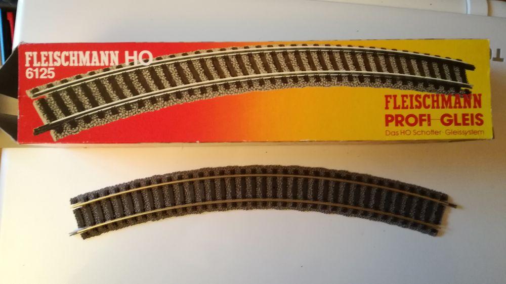 Lot de 10 FLEISCHMANN PROFI 6125 HO, rail courbe 45 Cormeilles-en-Parisis (95)