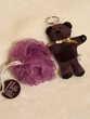 Fleur de bain mauve + porte clé ourson violet 3 Livry-Gargan (93)