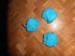 Fleurs de bain bleues (25) Décoration