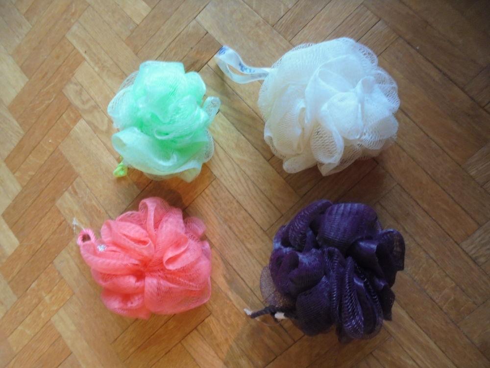 Fleurs de bain différentes couleurs (25) Décoration