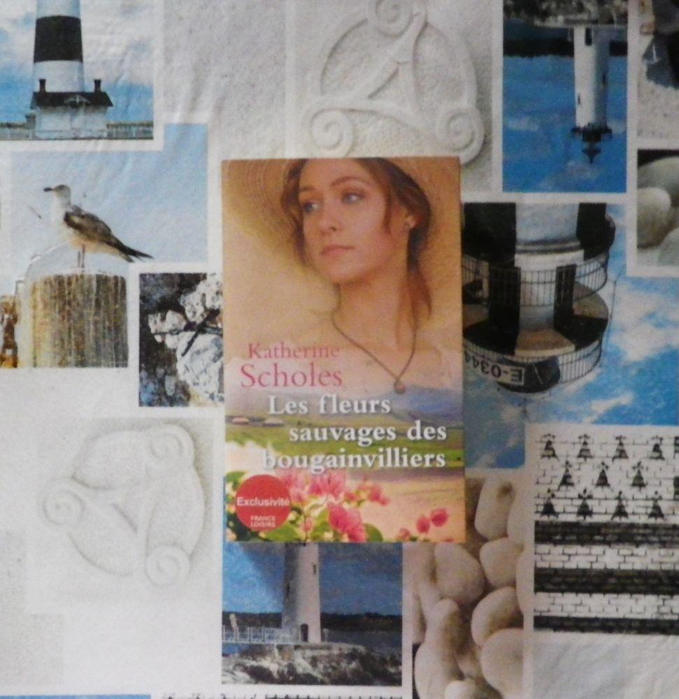 LES FLEURS SAUVAGES DES BOUGAINVILLIERS de Katherine SCHOLES 5 Bubry (56)
