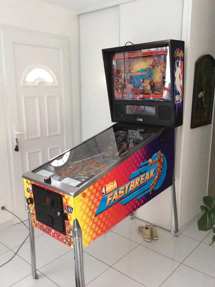 flipper NBA FASTBREAK (Bally 1996) 2300 Marsac-sur-l'Isle (24)