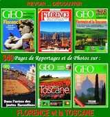 FLORENCE -  géo - LA TOSCANE 20 Paris 10 (75)