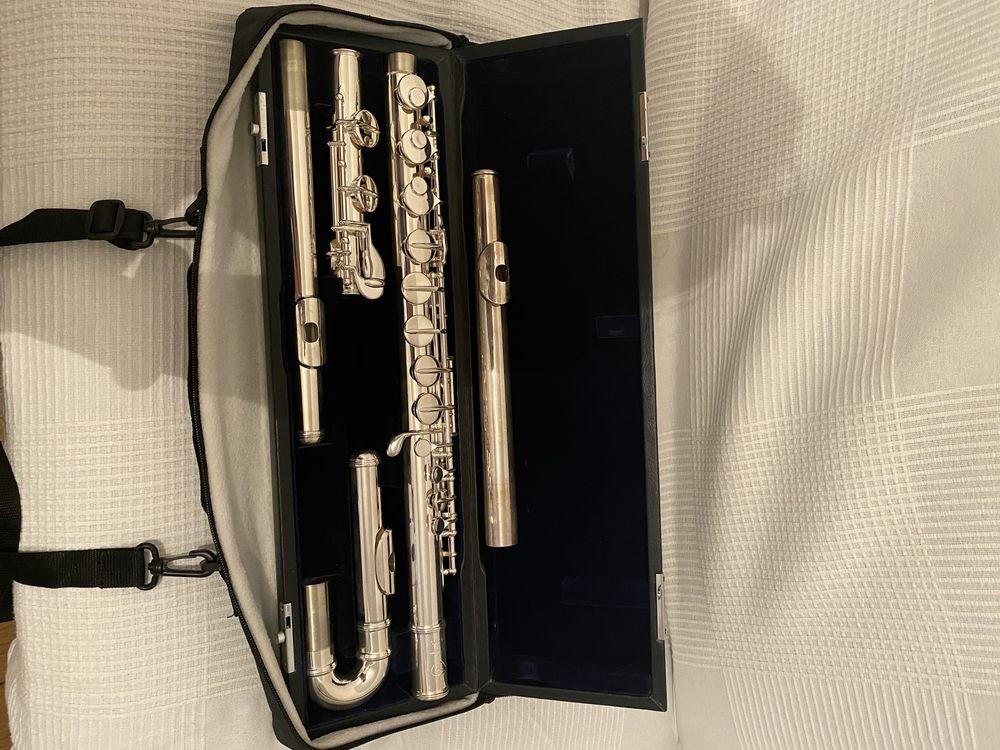 Flûte alto en sol Di-Zhao avec trois têtes 4000 Paris 1 (75)