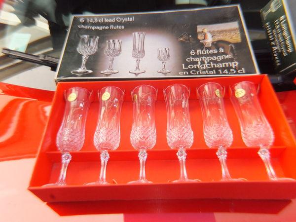 Flûte à champagne cristal d'Arques 30 Élancourt (78)