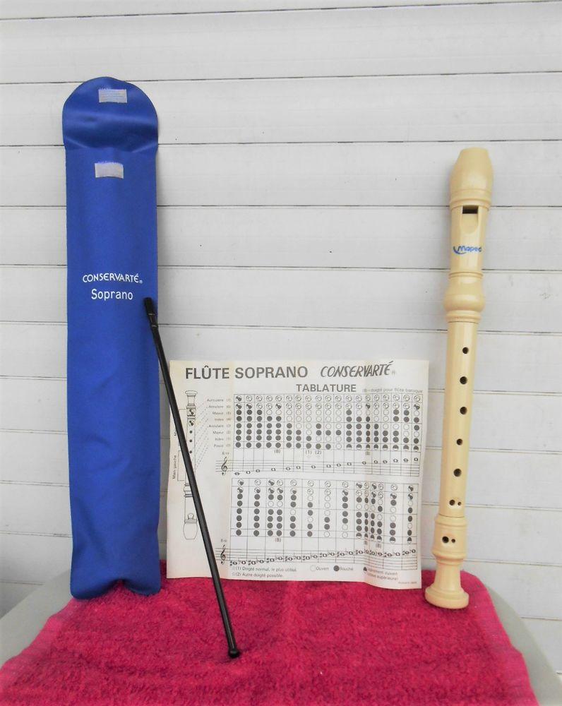 Flûte SOPRANO Conservarté - complète 5 Angers (49)