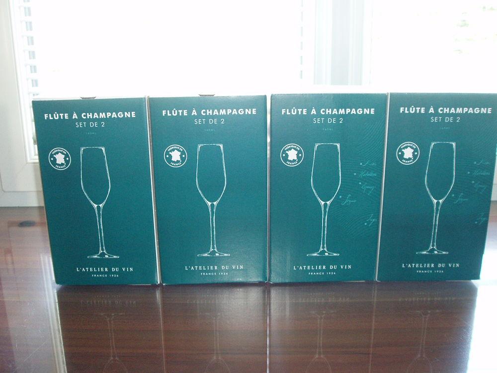 Flûtes à Champagne NEUVES de l'Atelier du Vin  0 Corbeil-Essonnes (91)