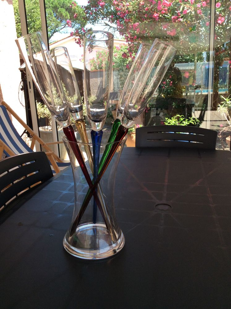 flûtes à champagne 8 Le Barcarès (66)