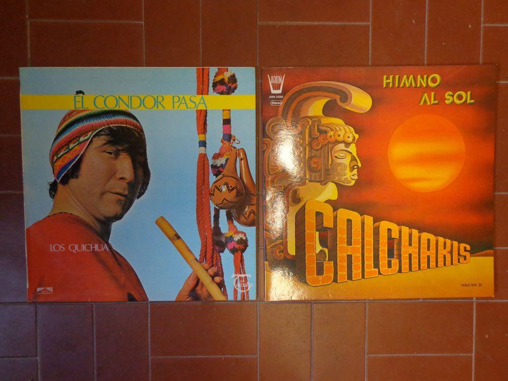 FLUTES INDIENNES, 2 vinyles 33 tours 3 Éragny (95)