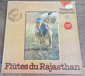 Flûtes du Rajasthan Le chant du monde C,N,R,S, disque vinyle 10 Laval (53)