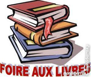 Foire aux livres :romans-encyclopédies-guides-mag 3 Paris 14 (75)