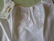 FOND DE ROBE COMBINAISON BLANCHE VINTAGE Vêtements
