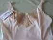 FONDS DE ROBE COMBINAISON VINTAGE SAUMON Vêtements