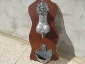 fontaine en étain ancienne 25 Saint-Pierre-de-Chandieu (69)