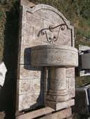 fontaine mural avec bac 800 Carnoules (83)